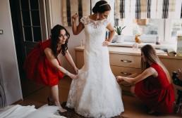Ola i Marcin - Ślub w stylu glamour - wesele w Białej Akacji 26