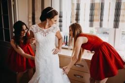 Ślub w stylu glamour i wspaniały plener na Zamku w Mosznej 27
