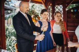 Ślub w stylu glamour i wspaniały plener na Zamku w Mosznej 30