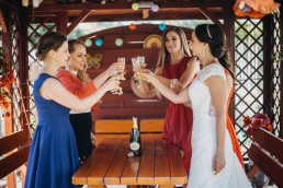 Ślub w stylu glamour i wspaniały plener na Zamku w Mosznej 33