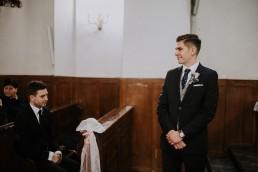 Asia i Grzesiek - Grudniowy ślub - Kościół na górce w Opolu - Restauracja Słociak 30