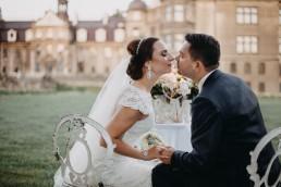 Ślub w stylu glamour i wspaniały plener na Zamku w Mosznej 131