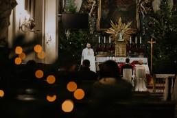 Asia i Grzesiek - Grudniowy ślub - Kościół na górce w Opolu - Restauracja Słociak 33
