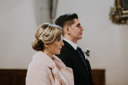 Asia i Grzesiek - Grudniowy ślub - Kościół na górce w Opolu - Restauracja Słociak 34