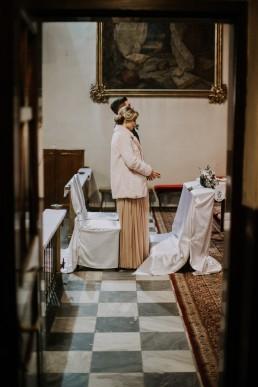 Asia i Grzesiek - Grudniowy ślub - Kościół na górce w Opolu - Restauracja Słociak 35