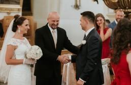 Ślub w stylu glamour i wspaniały plener na Zamku w Mosznej 43