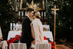 świąteczny ślub w kościele na górce pod Opolem