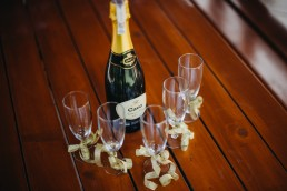 szampan ślub przygotowania
