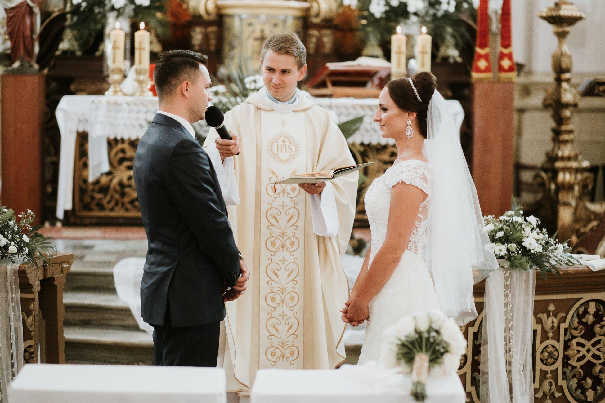 piękny ślub glamour w Opolskim