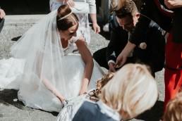 Ślub w stylu glamour i wspaniały plener na Zamku w Mosznej 65