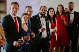 Ślub w stylu glamour i wspaniały plener na Zamku w Mosznej 72