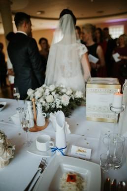 Ślub w stylu glamour i wspaniały plener na Zamku w Mosznej 74