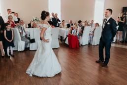 Ślub w stylu glamour i wspaniały plener na Zamku w Mosznej 76