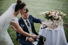 Ślub w stylu glamour i wspaniały plener na Zamku w Mosznej 140