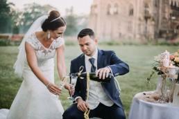 Ślub w stylu glamour i wspaniały plener na Zamku w Mosznej 143