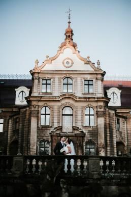 Ślub w stylu glamour i wspaniały plener na Zamku w Mosznej 147