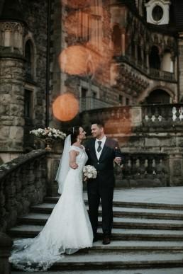Ślub w stylu glamour i wspaniały plener na Zamku w Mosznej 148