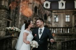 Ola i Marcin - Ślub w stylu glamour - wesele w Białej Akacji 149