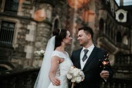 Ola i Marcin - Ślub w stylu glamour - wesele w Białej Akacji 1