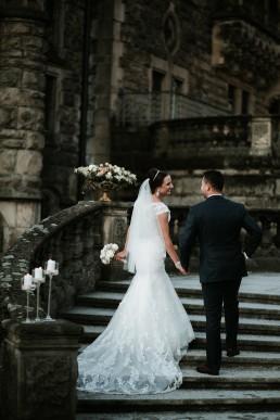 Ślub w stylu glamour i wspaniały plener na Zamku w Mosznej 151