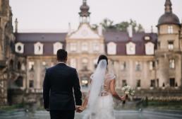 Ślub w stylu glamour i wspaniały plener na Zamku w Mosznej 128
