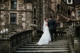 Ślub w stylu glamour i wspaniały plener na Zamku w Mosznej 152