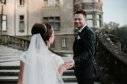 Ślub w stylu glamour i wspaniały plener na Zamku w Mosznej 154