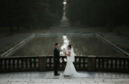 Ślub w stylu glamour i wspaniały plener na Zamku w Mosznej 156