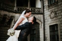 Ślub w stylu glamour i wspaniały plener na Zamku w Mosznej 158
