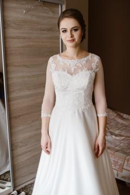Fotografia ślubna - Piękny zimowy ślub i plener Gosi i Sebastiana 16