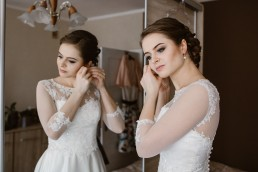 Fotografia ślubna - Piękny zimowy ślub i plener Gosi i Sebastiana 19