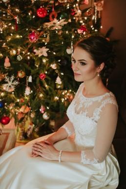 Fotografia ślubna - Piękny zimowy ślub i plener Gosi i Sebastiana 22