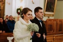 Fotografia ślubna - Piękny zimowy ślub i plener Gosi i Sebastiana 34