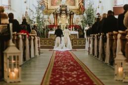 Fotografia ślubna - Piękny zimowy ślub i plener Gosi i Sebastiana 37