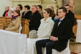 Fotografia ślubna - Piękny zimowy ślub i plener Gosi i Sebastiana 39