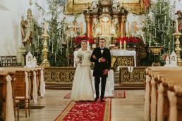 Fotografia ślubna - Piękny zimowy ślub i plener Gosi i Sebastiana 47