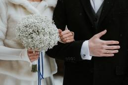 Fotografia ślubna - Piękny zimowy ślub i plener Gosi i Sebastiana 56