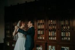 Zimowy ślub w Prudniku - Ślub w Kościele w Lasku, Wesele pod Wieżyczką, Plener na Zamku w Mosznej 83