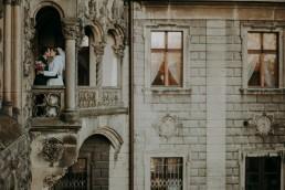 wyróżniający się plener na zamku w mosznej