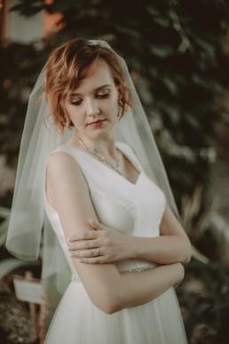 Zimowy ślub w Prudniku - Ślub w Kościele w Lasku, Wesele pod Wieżyczką, Plener na Zamku w Mosznej 90