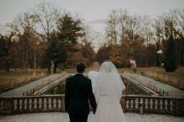 Zimowy ślub w Prudniku - Ślub w Kościele w Lasku, Wesele pod Wieżyczką, Plener na Zamku w Mosznej 91