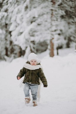Lola, Kasia i Paweł - zimowa sesja rodzinna 4
