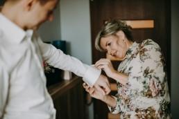 Zimowy ślub w Prudniku - Ślub w Kościele w Lasku, Wesele pod Wieżyczką, Plener na Zamku w Mosznej 10