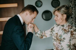 Zimowy ślub w Prudniku - Ślub w Kościele w Lasku, Wesele pod Wieżyczką, Plener na Zamku w Mosznej 17