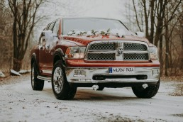 Dodge Ram do ślubu