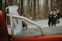 Zimowy ślub w Prudniku - Ślub w Kościele w Lasku, Wesele pod Wieżyczką, Plener na Zamku w Mosznej 37
