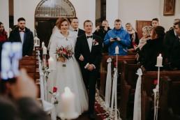 ślub w Prudniku w lesie