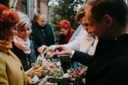 Zimowy ślub w Prudniku - Ślub w Kościele w Lasku, Wesele pod Wieżyczką, Plener na Zamku w Mosznej 52