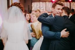 Zimowy ślub w Prudniku - Ślub w Kościele w Lasku, Wesele pod Wieżyczką, Plener na Zamku w Mosznej 59