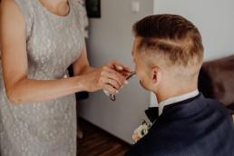 Kasia i Paweł - Magiczny leśny plener - wesele w hotelu Szara Willa 32